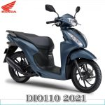 新型DIO110 2021年モデル