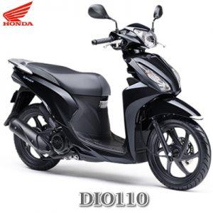 DIO110ブラック